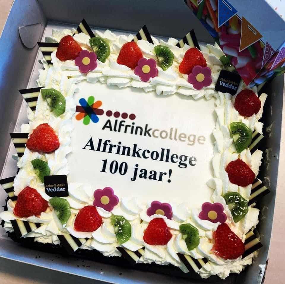 Alfrinkcollege 100 jaar